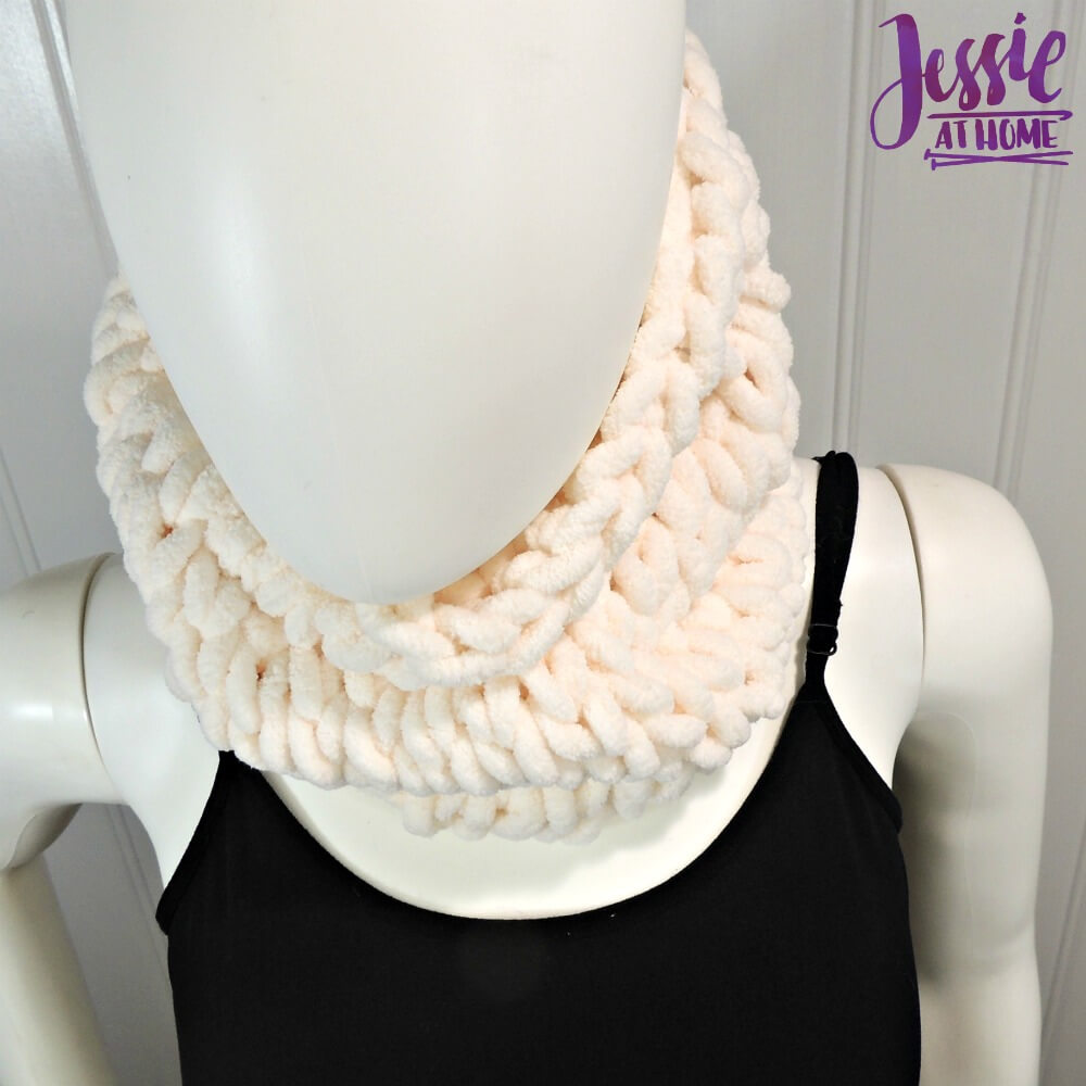 Half Hour Cowl free pattern by Jessie At Home - 3