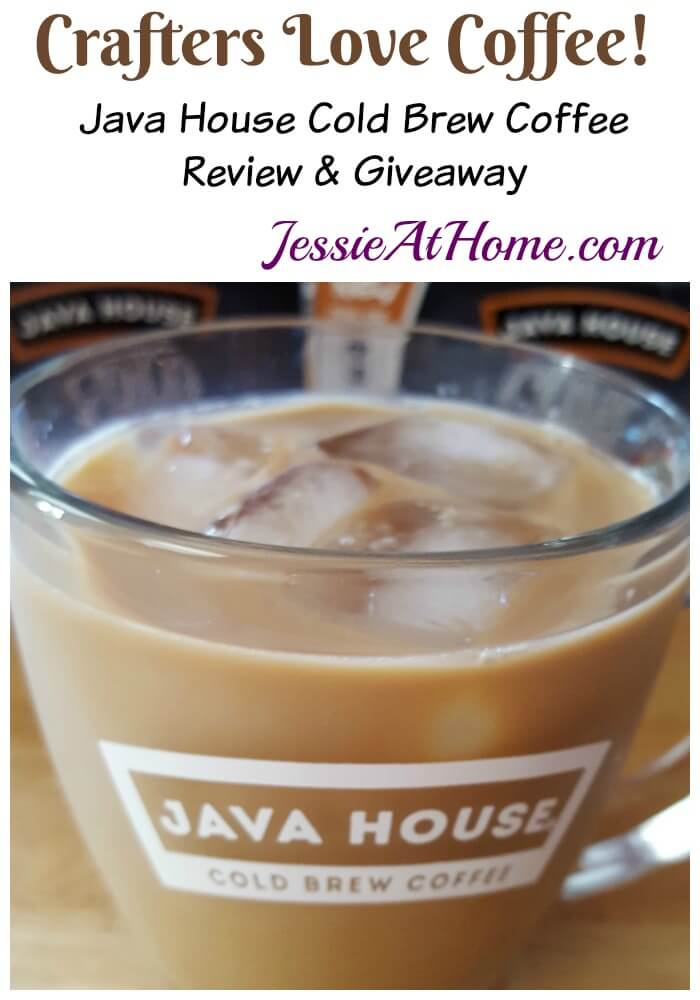 Java House Cold Brew Coffee Review and Giveaway from Jessie At Home