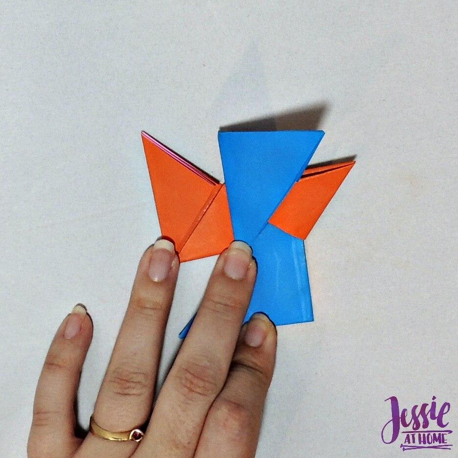 Origami Ninja Star Step 10