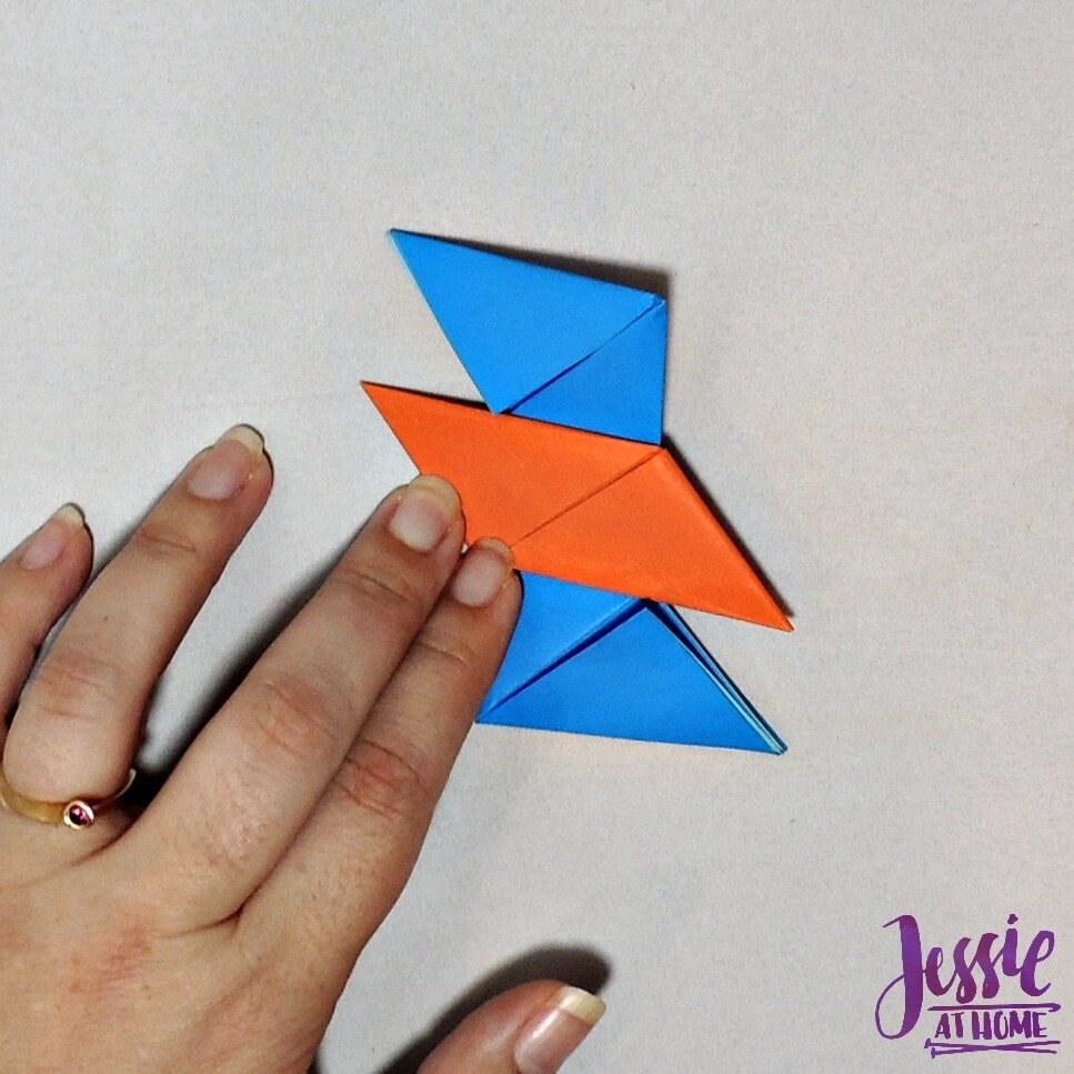 Origami Ninja Star Step 13