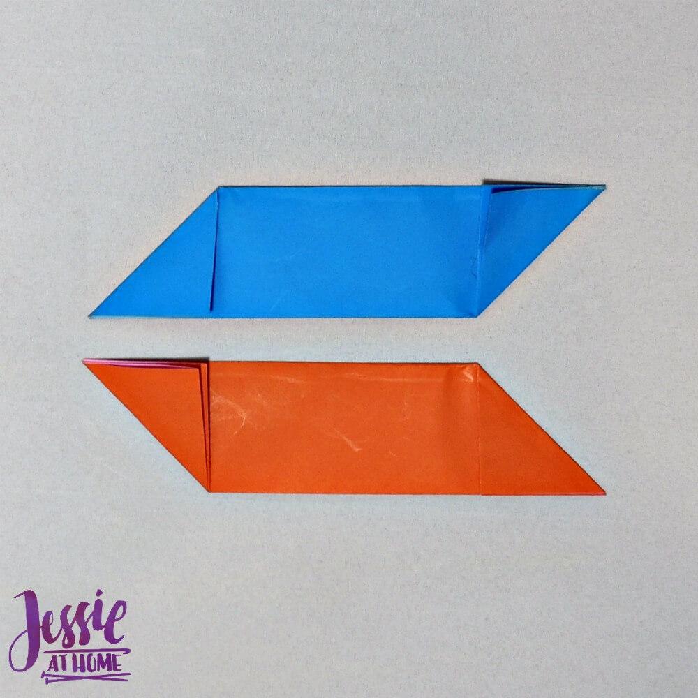 Origami Ninja Star Step 3