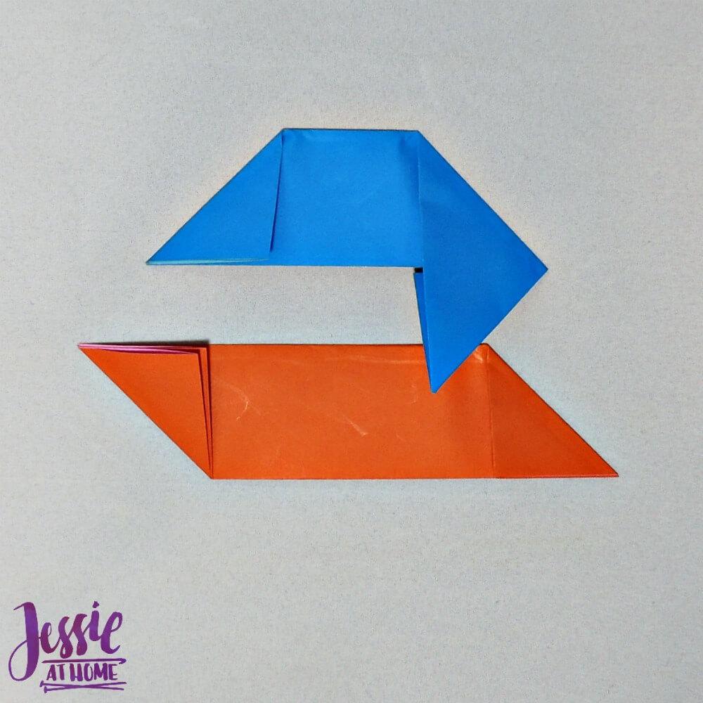 Origami Ninja Star Step 4
