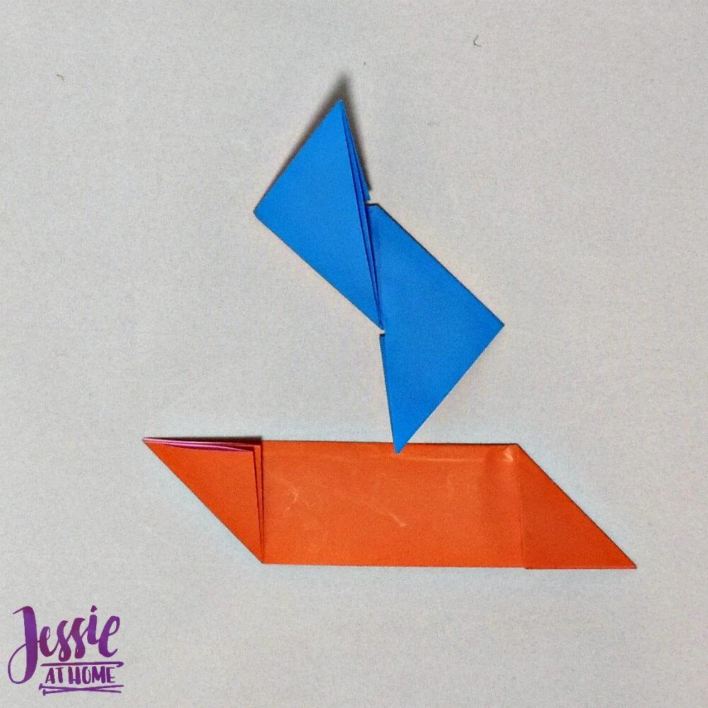 Origami Ninja Star Step 5