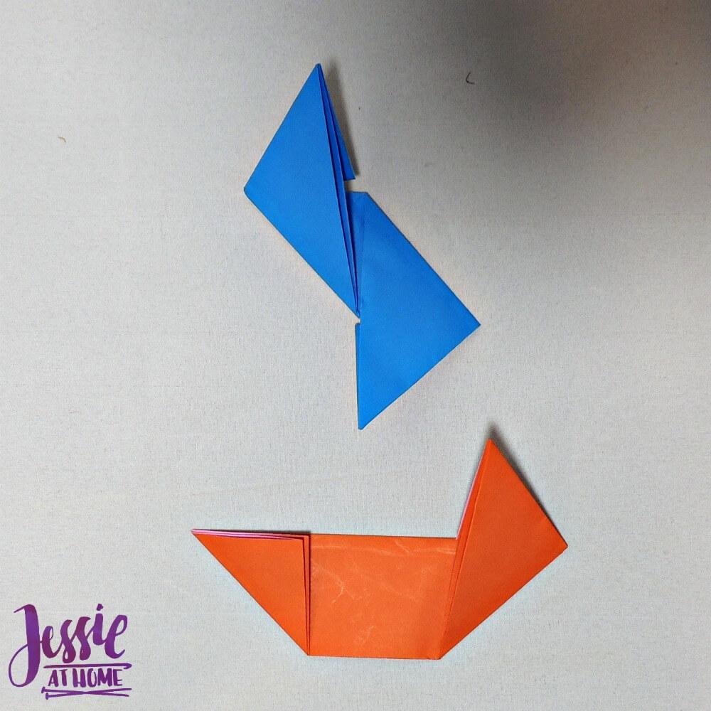 Origami Ninja Star Step 6