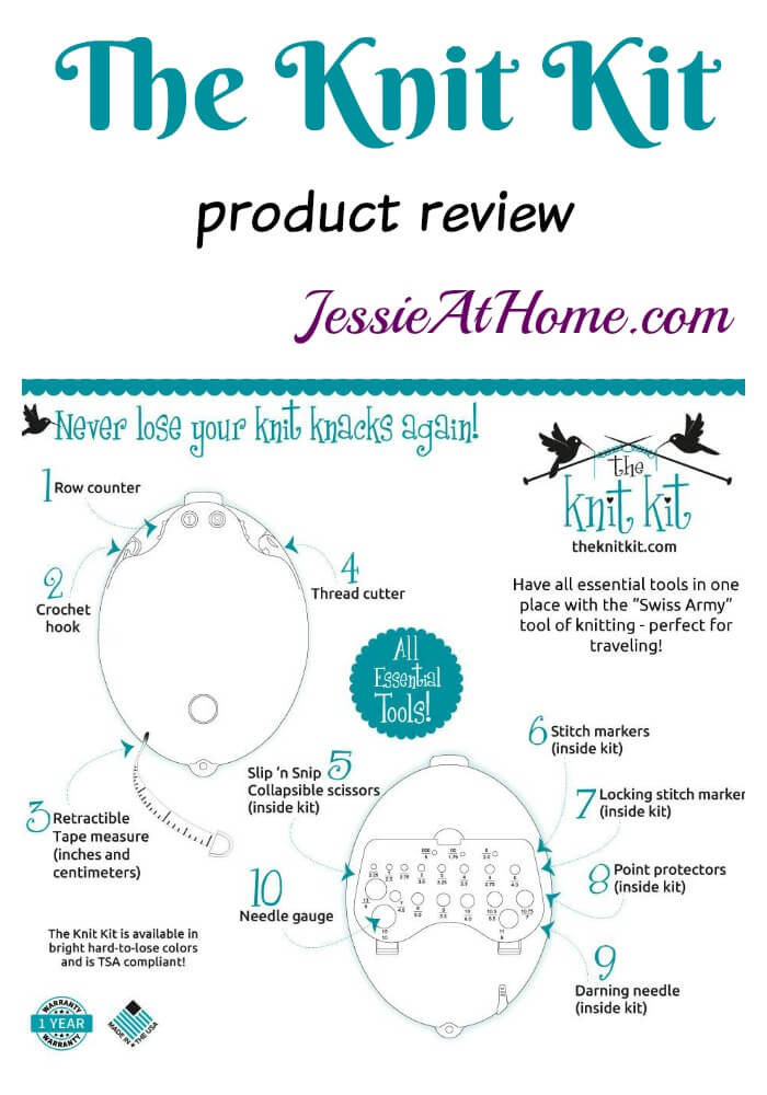 The Knit Kit product review from Jessie At Home