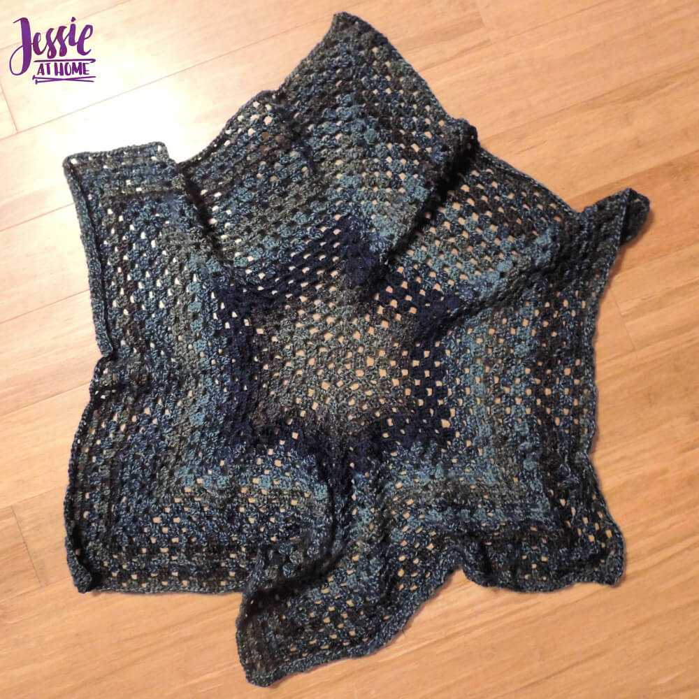 Candy Cardi free crochet pattern by Jessie At Home - hexagon