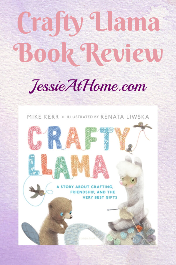 Crafty Llama Book Review from Jessie At Home