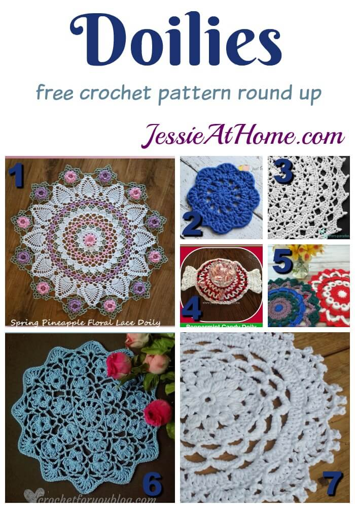 Doilies To Crochet Great For Home Decor Jessie At Home