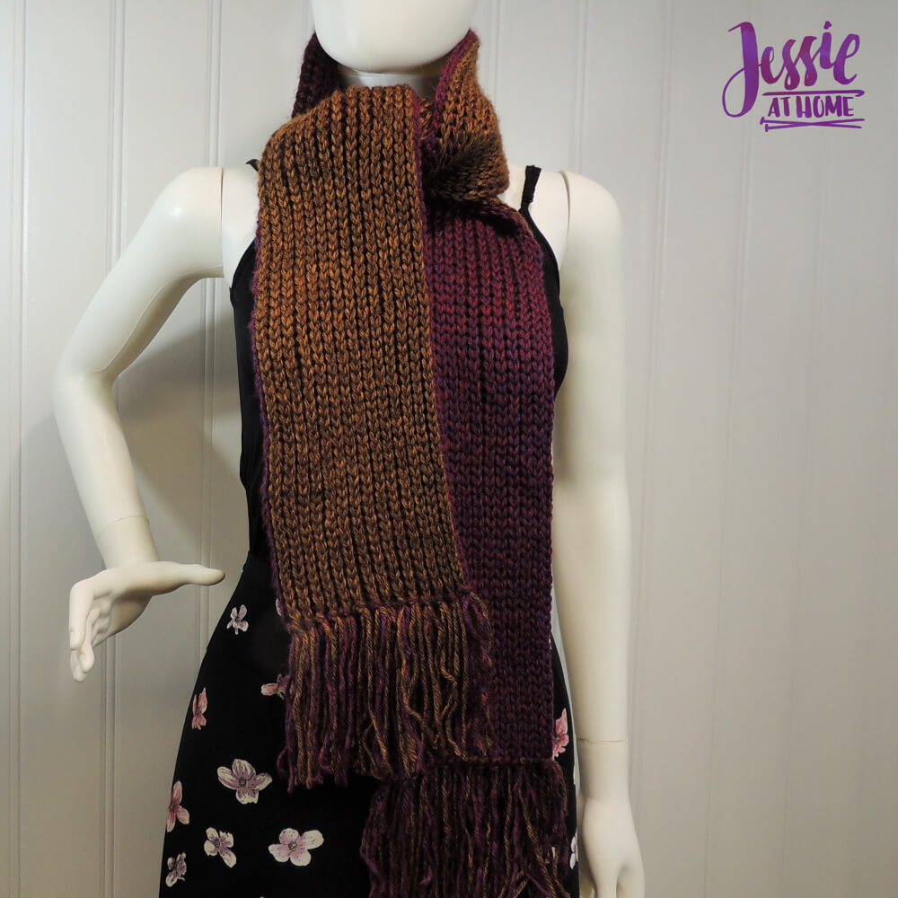 Faux Brioche Scarf free crochet pattern by Jessie At Home - 5