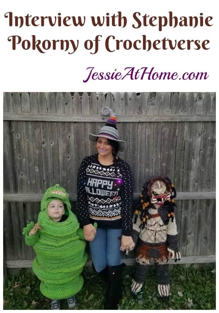 Interview with Stephanie Pokorny of Crochetverse