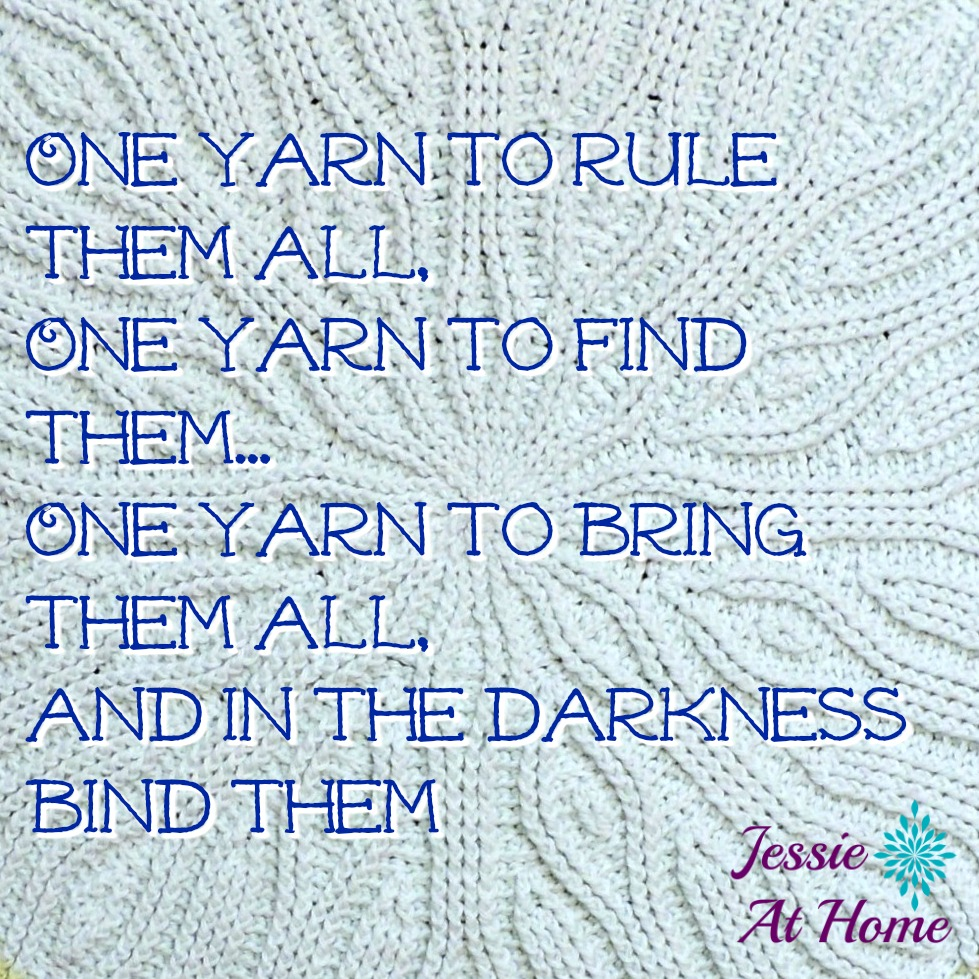 One yarn to rule them all!