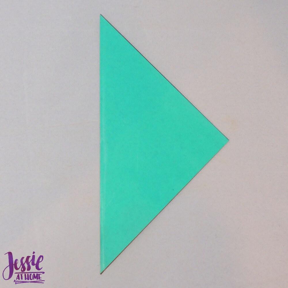 Origami Swan Step 1