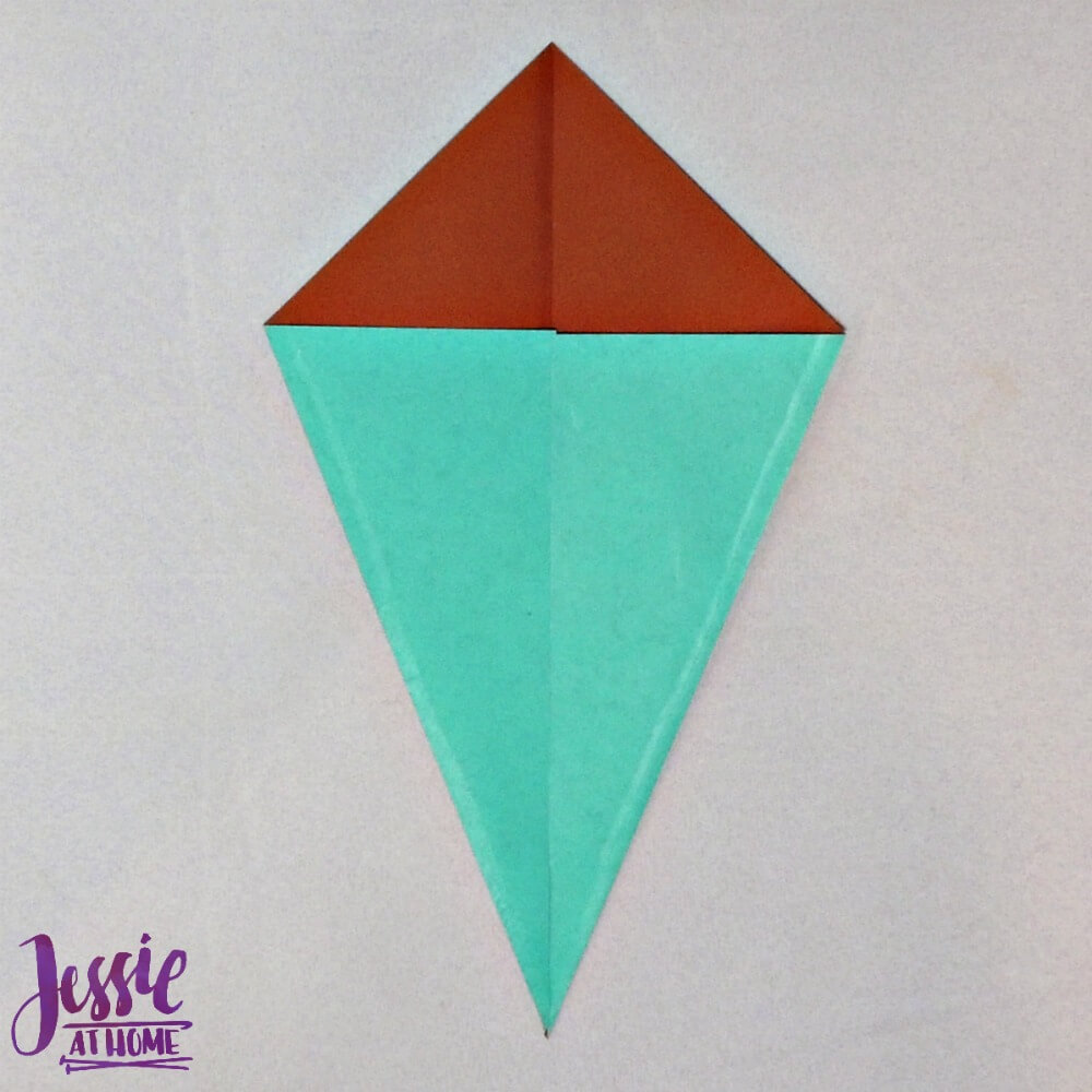 Origami Swan Step 2