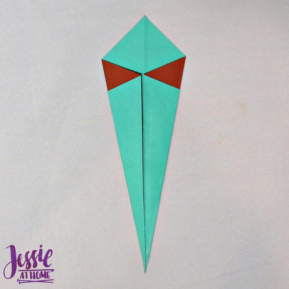 Origami Swan Step 4