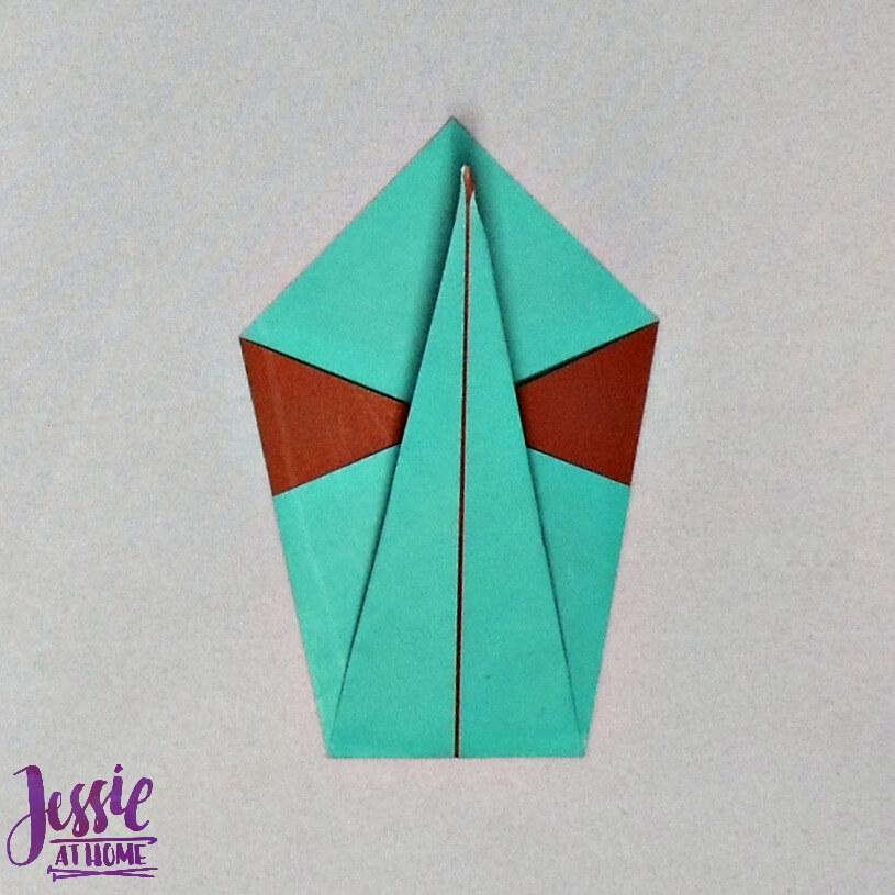 Origami Swan Step 5