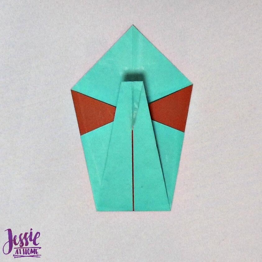 Origami Swan Step 6