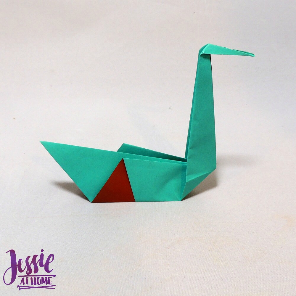 Origami Swan Step 8