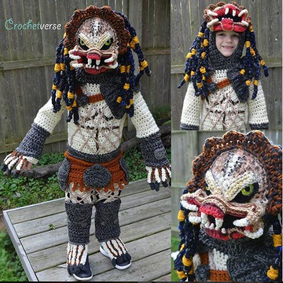 Preditor Costume - Interview with Stephanie Pokorny of Crochetverse
