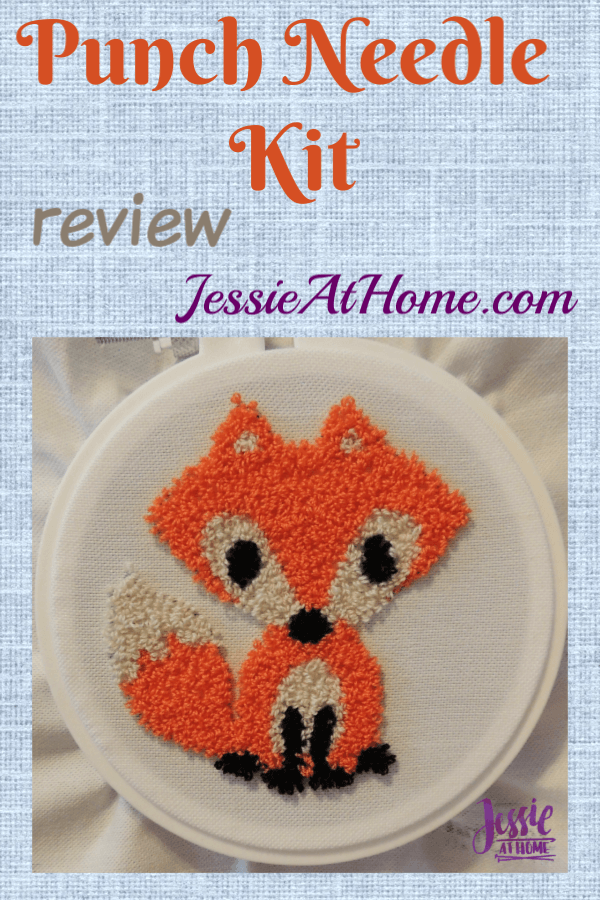 Punch Needle Kit review from Jessie At Home