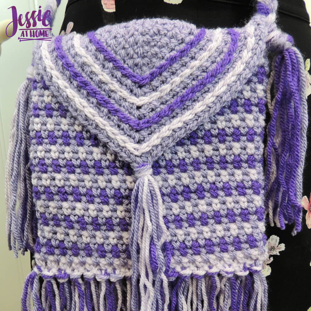 Purple Passion Purse free crochet pattern by Jessie At Home - 3