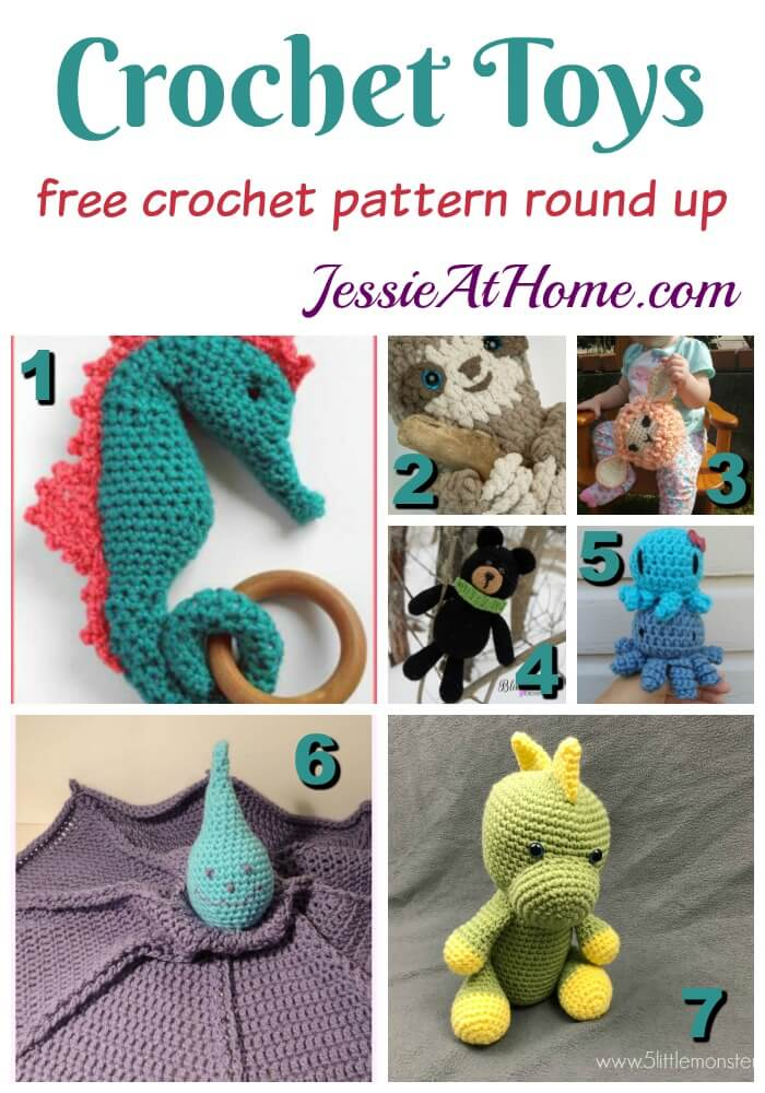 Crochet Toys free crochet pattern by Jessie At Home