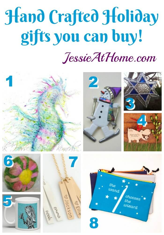 Handcrafted Holiday Gifts You Can Buy - found by Jessie At Home