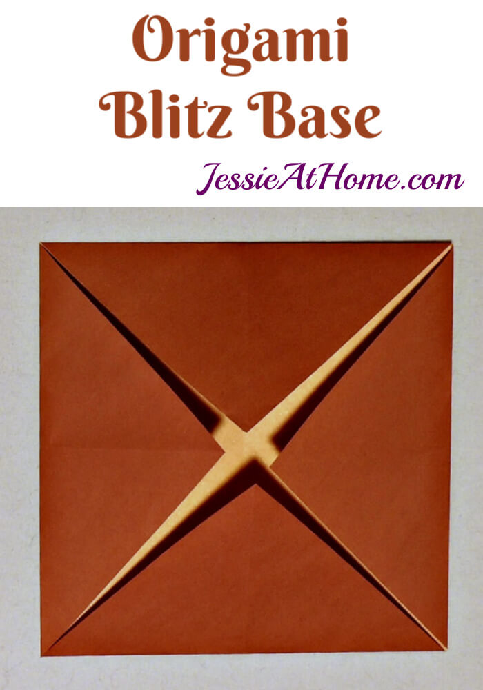 Origami Blintz Base Tutorial by Jessie At Home