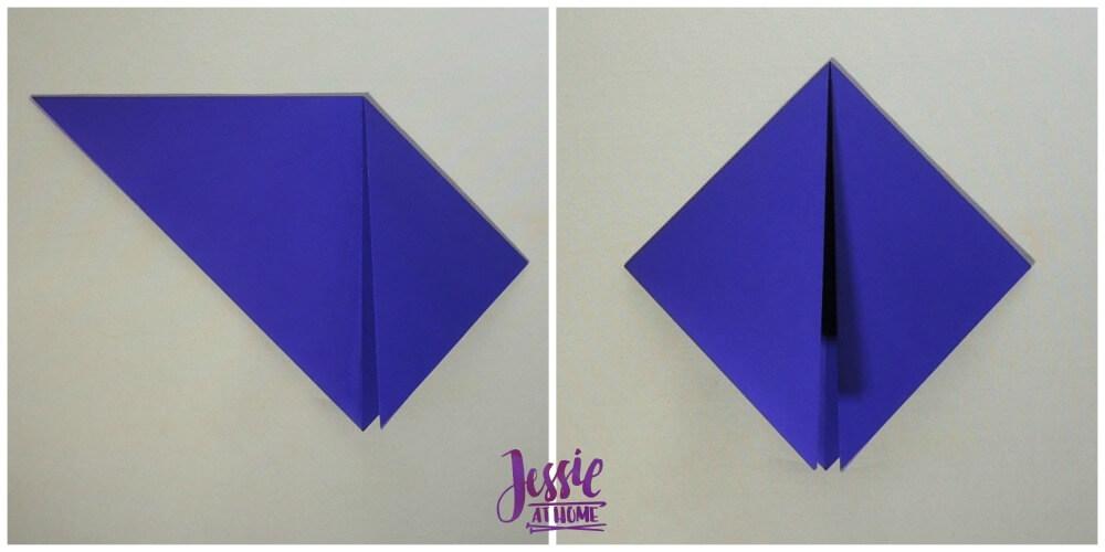 Origami Helmet Step 2