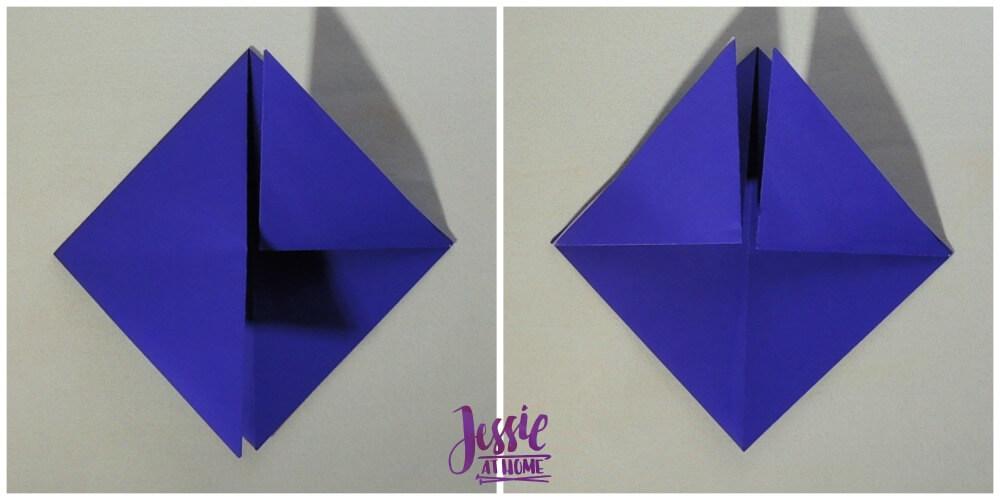 Origami Helmet Step 3