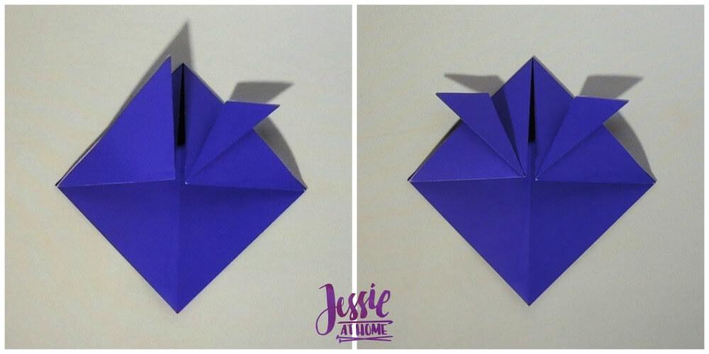Origami Helmet Step 4