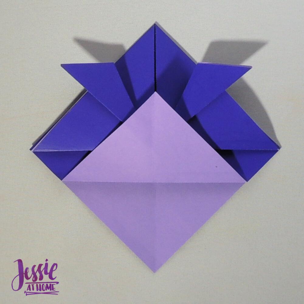 Origami Helmet Step 5