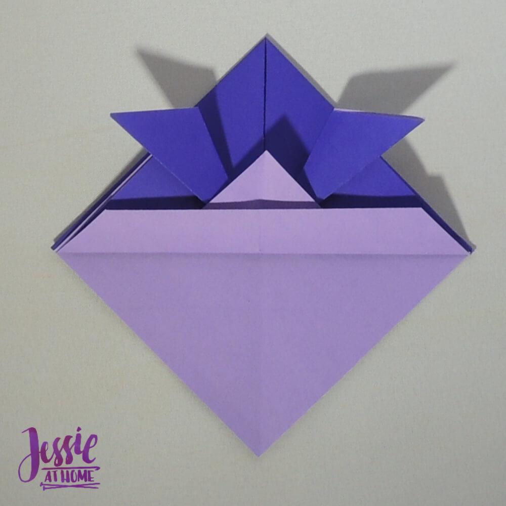 Origami Helmet Step 6