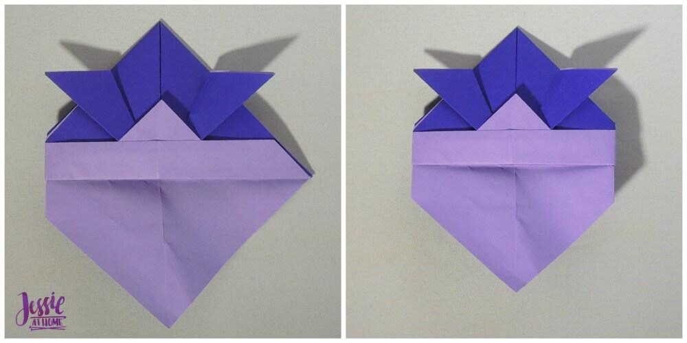 Origami Helmet Step 7