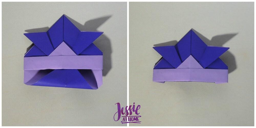 Origami Helmet Step 8