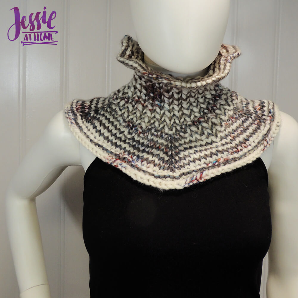 Claire's Cowl free knit pattern by Jessie At Home - 3