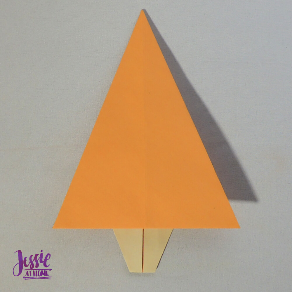 Origami Christmas Tree Step 10