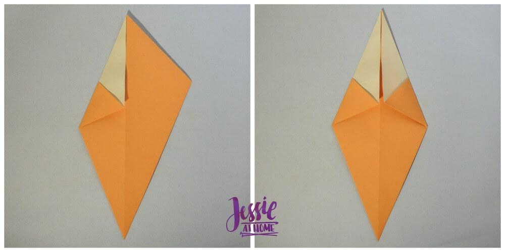 Origami Christmas Tree Step 4