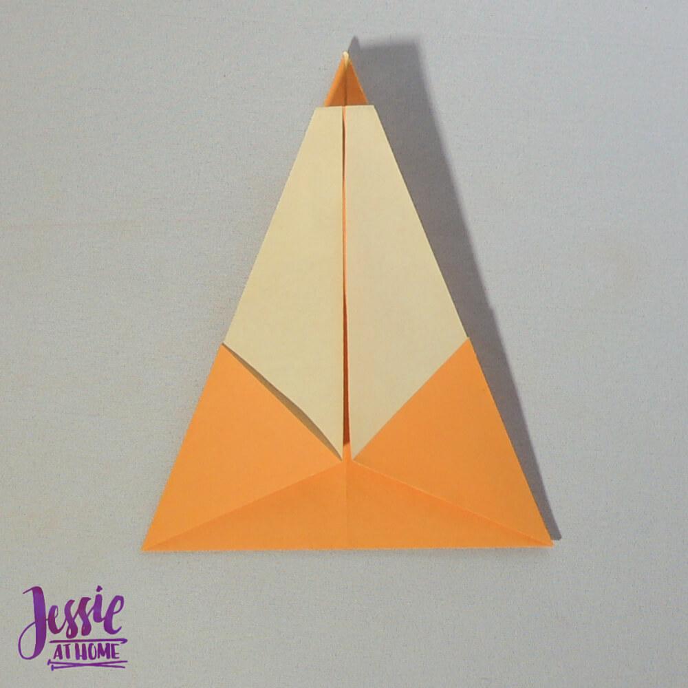 Origami Christmas Tree Step 7