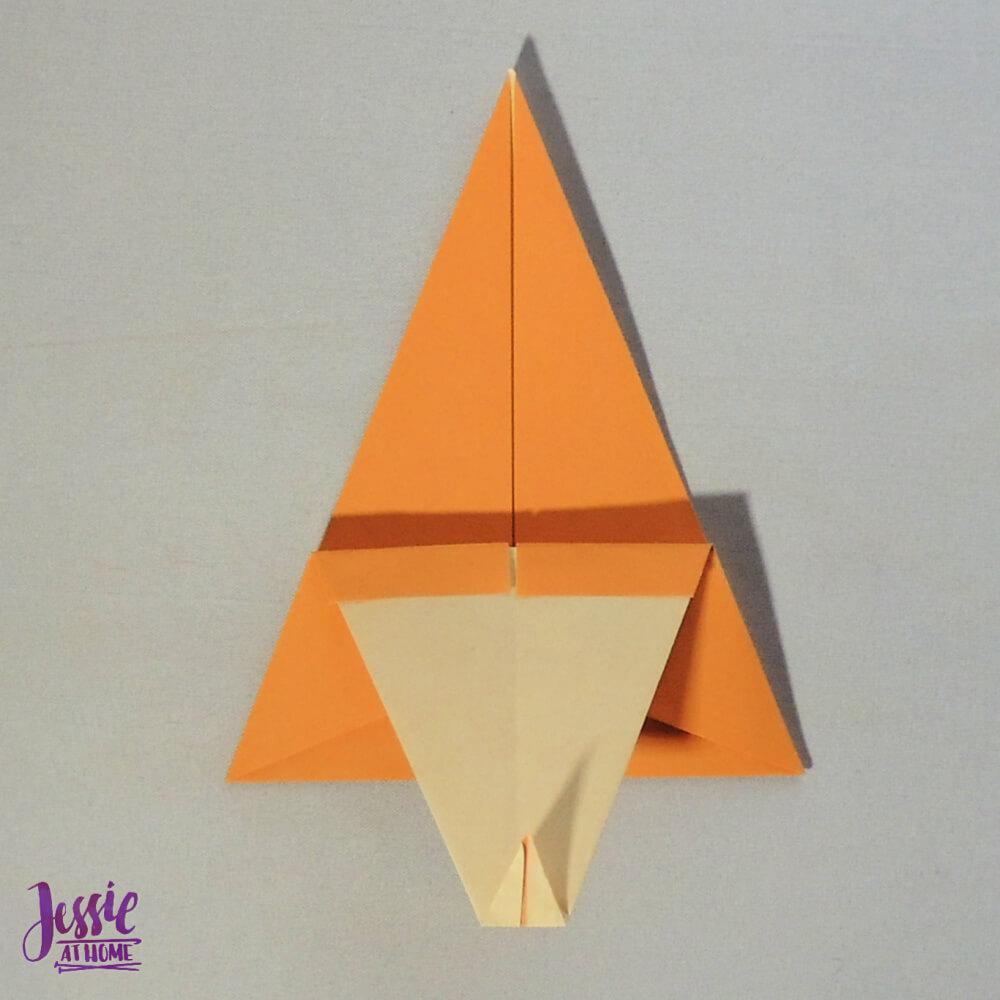 Origami Christmas Tree Step 9