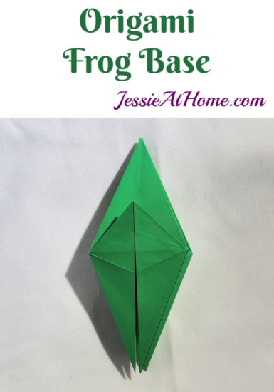 Origami Frog Base Tutorial by Jessie At Home