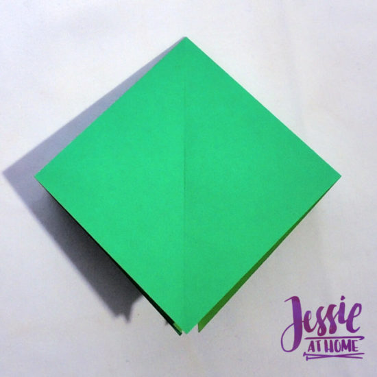Origami Frog Base Tutorial by Jessie At Home - Step 1