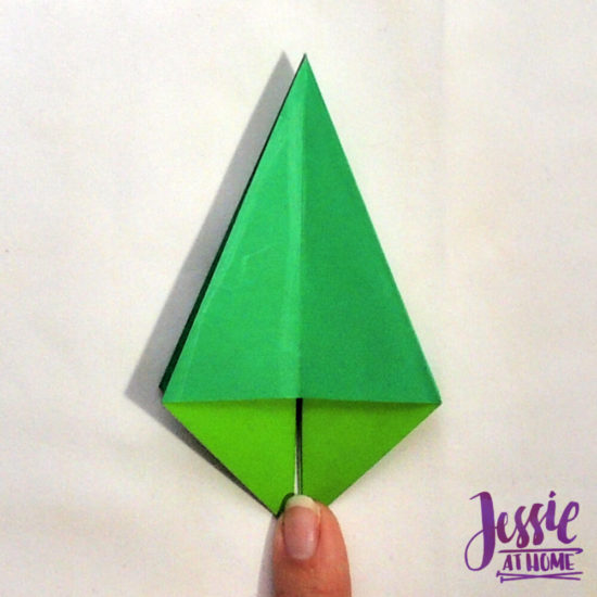 How to Make an Origami Frog Base - Snapguide   550x550