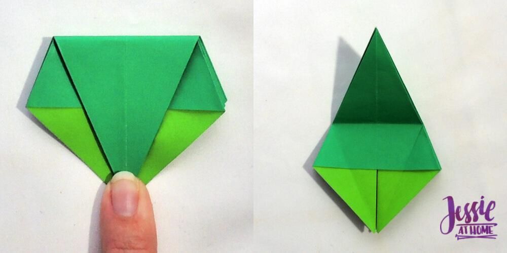Aileen Edwin Origami: Frog Base | 500x1000