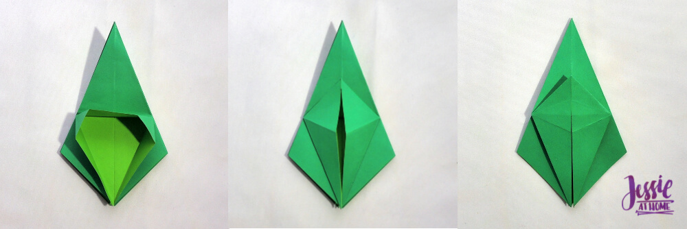 Origami Frog Base Tutorial by Jessie At Home - Step 8