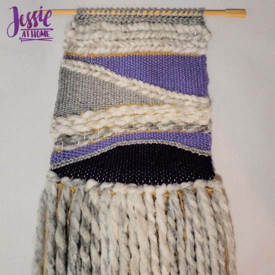 Woven Wall Hanging craft tutorial by Jessie At Home - front done