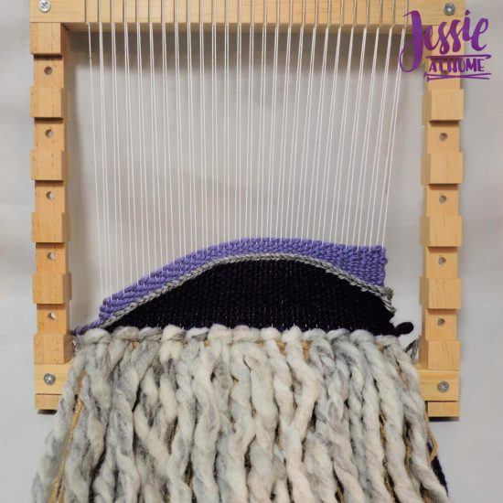 Woven Wall Hanging craft tutorial by Jessie At Home - step 4