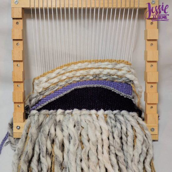 Woven Wall Hanging craft tutorial by Jessie At Home - step 5
