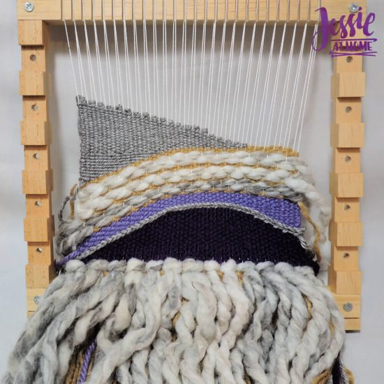 Woven Wall Hanging craft tutorial by Jessie At Home - step 6