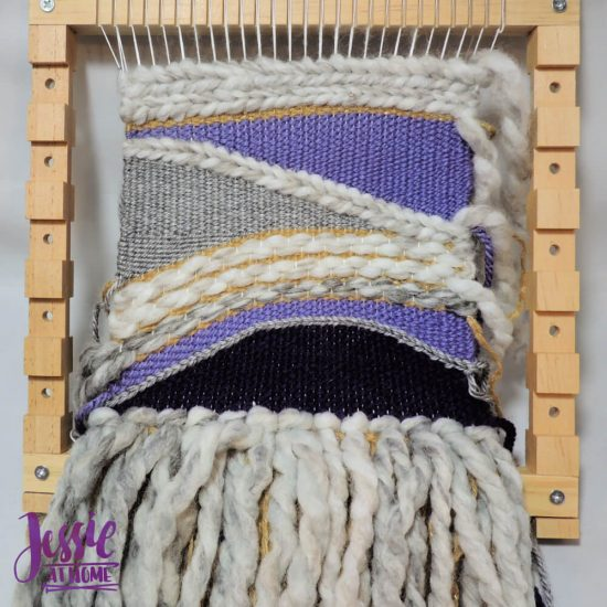 Woven Wall Hanging craft tutorial by Jessie At Home - step 7