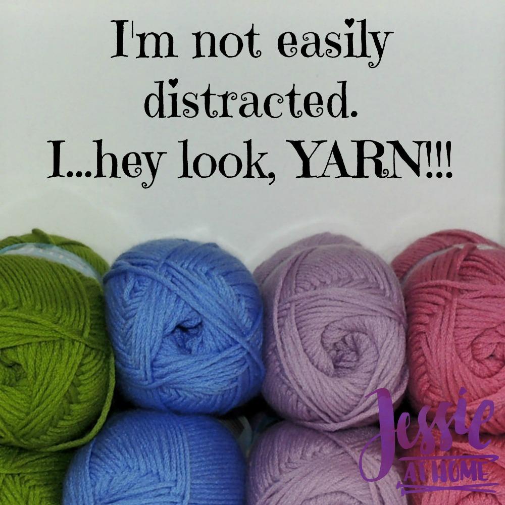 Yarn distraction